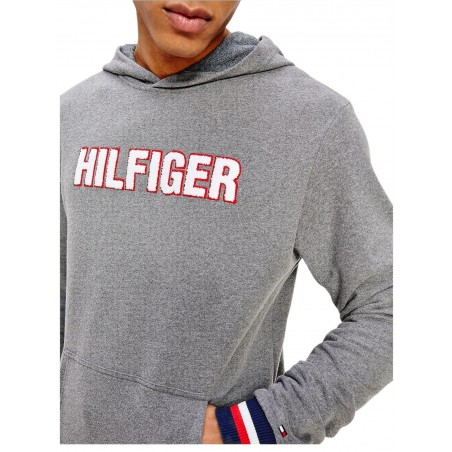 Sudadera Hombre Tommy Hilfiger OH Hoodie LS GRIS